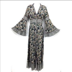 NWOT Chelsea & Violet Boho Paisley Maxi Dress. S